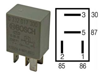 Mikrorele 12V
