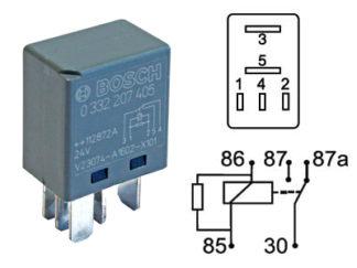Mikrorele 24V