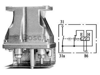 Sähköinen päävirtakytkin 24V