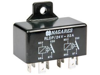 Kytkentärele 24V 4-nap