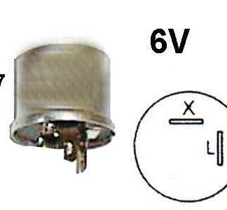 Vilkkurele 6V