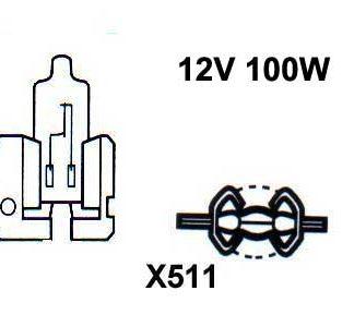 12V halogen H2