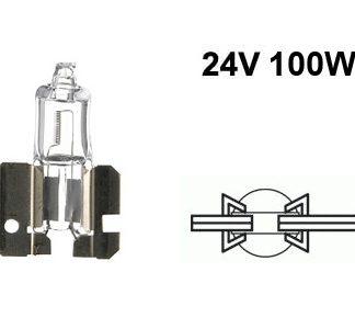 24V halogen H2