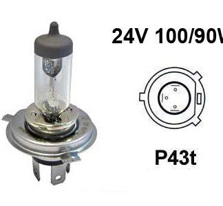 24V halogen H4