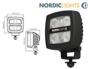 LED-peruutusvalo