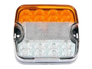 Etu- ja sivuvilkut LED