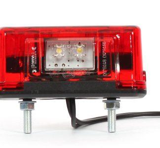 LED-rekisterivalot