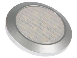 LED-sisävalot, pyöreät
