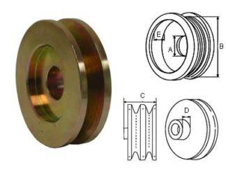 Hihnapyörä 10mm