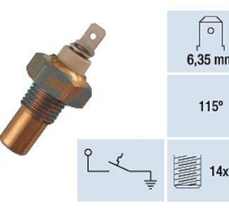 Lämpötilan tunnistimet, neste/öljy/polttoaine