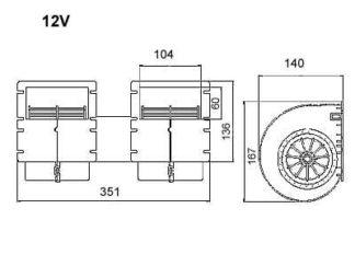 Yleismallit 12V Radial malli
