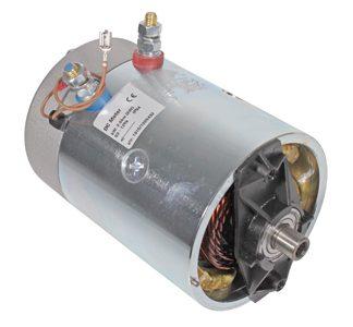 DC- moottorit (teli /perälauta) ja tarvikkeet
