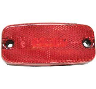 LED äärivalot, punainen