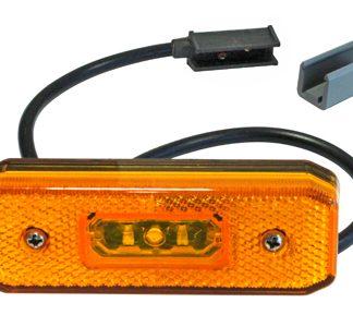 LED äärivalot, keltainen