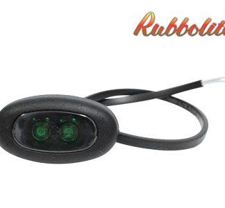 LED äärivalot, vihreä