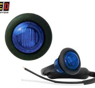 LED äärivalot, sininen